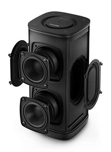 Philips BM6W/10 İzzy Taşınabilir Kablosuz Çoklu Oda Hoparlörü Siyah